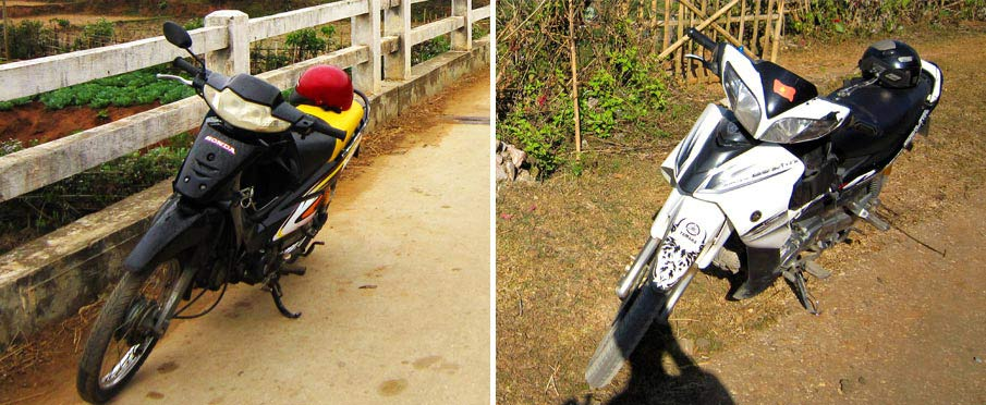 Cestování na motorce ve Vietnamu
