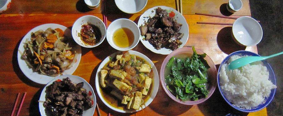 Jídlo u etnických menšin