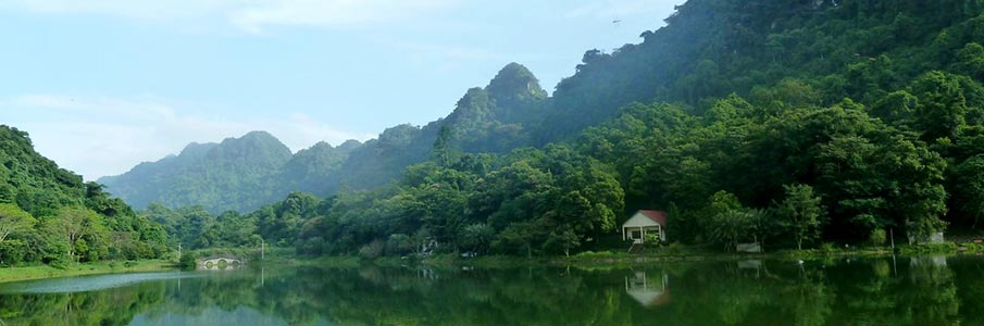 Trekování v parku Cuc Phuong - Vietnam