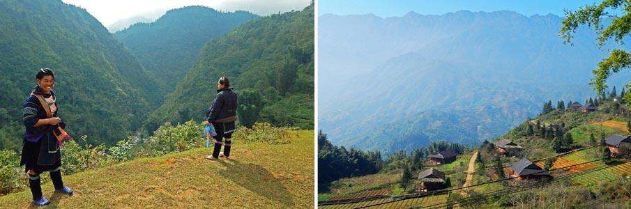 Trekování v Hoang Lien národním parku - Vietnam