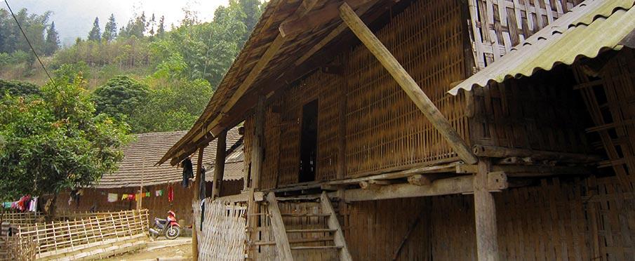 Homestay ve vesnici Ban Ho