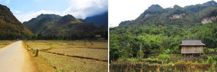 Trekování Mai Chau - Vietnam