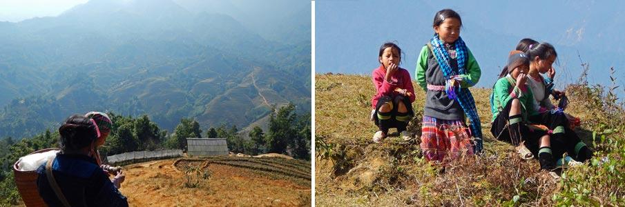 Trekování v Muong Hoa údolí - Vietnam
