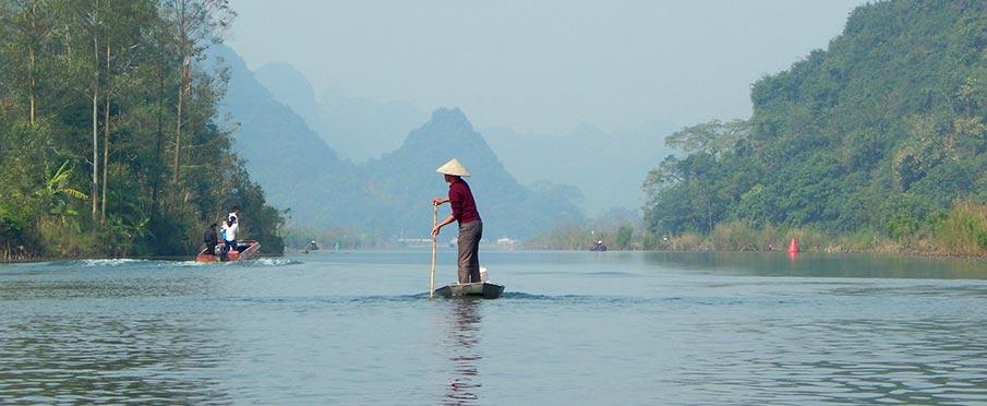 Vietnam - Parfémová pagoda