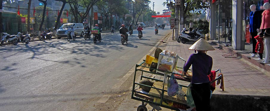 Cestovani ve Vietnamu