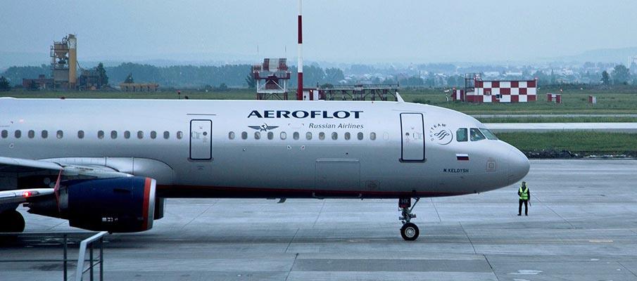 Letadlo Aeroflot