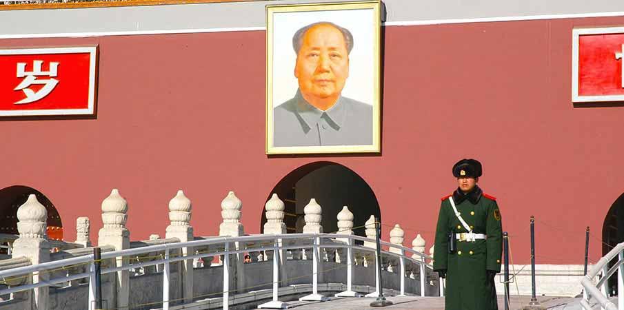Tiananmen-brana-peking-cina