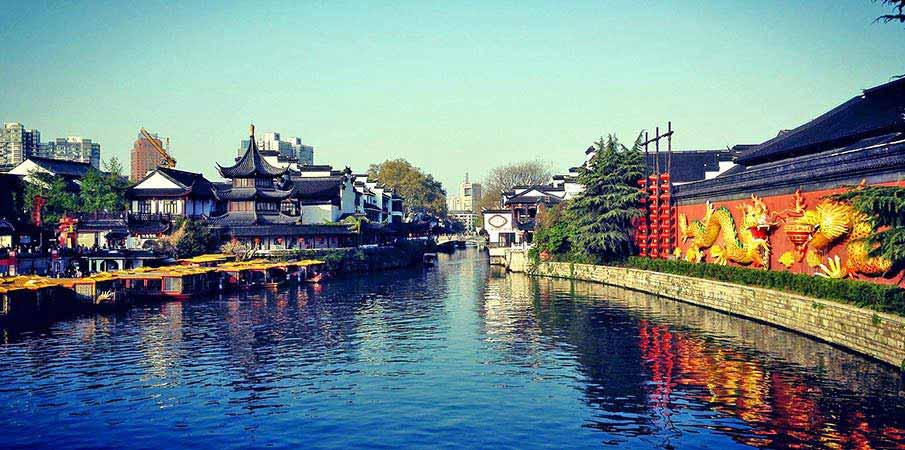 Qinhuai-reka-nanking-cina1