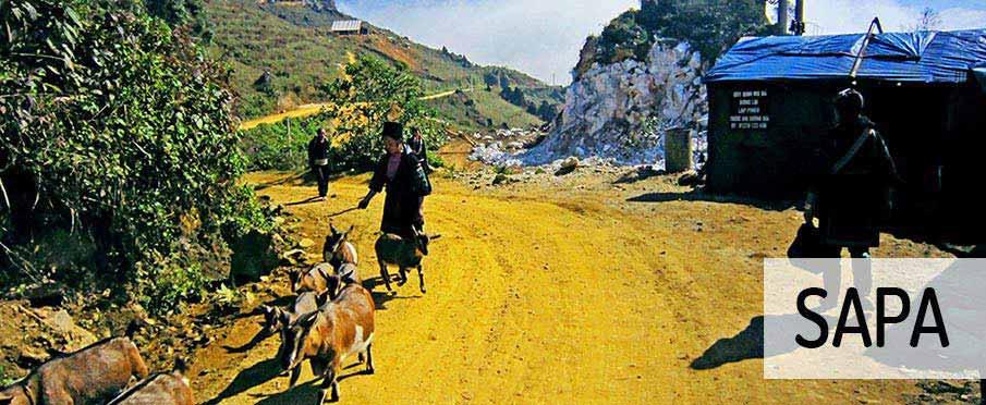 Sapa-HauThao-vesnice-vietnam