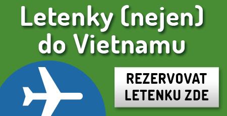 Letenky do Vietnamu